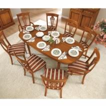 Klasszikus étkező bútorok / Nostalgia Day olasz dió színű ...