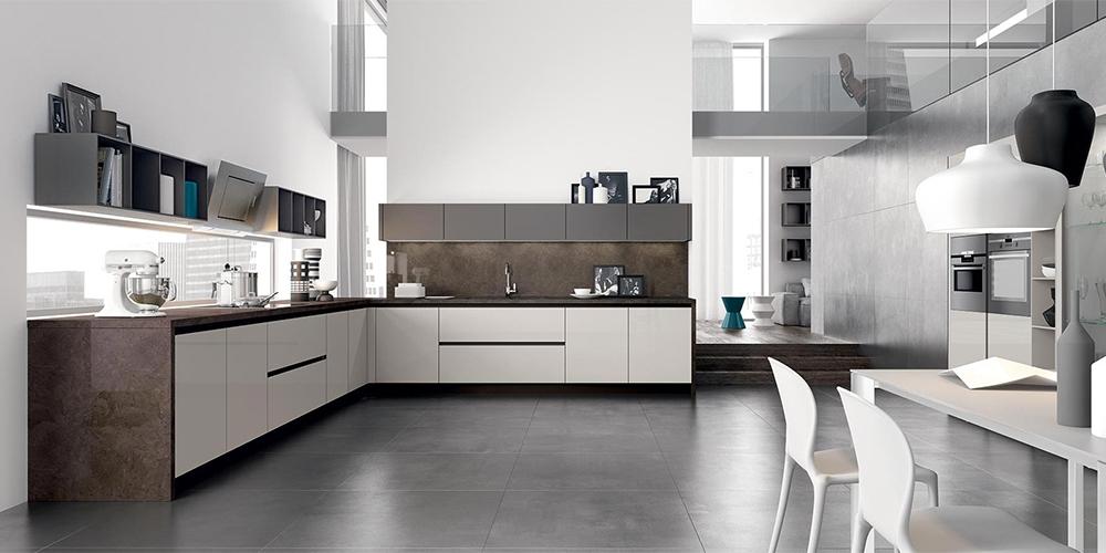 Konyhabútorok / Olasz modern konyhák / Glass modern magasfényű ...
